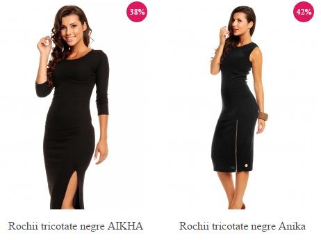 rochii-tricotate-negre