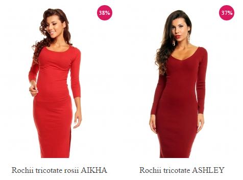 rochii-tricotate-rosii