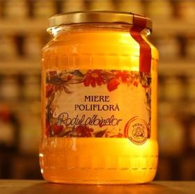 Miere poliflora 950g Prisaca Transilvania