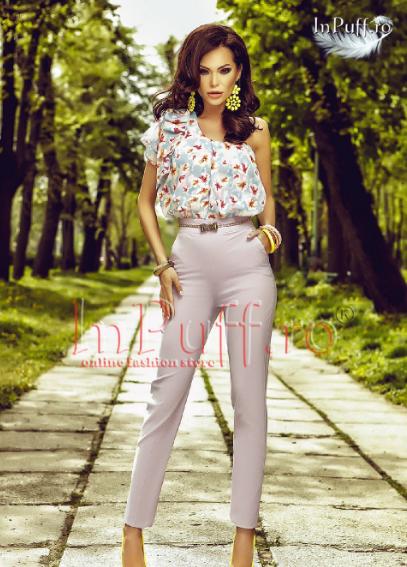 salopete_elegante_lungi_din lycra_si_voal_colorat