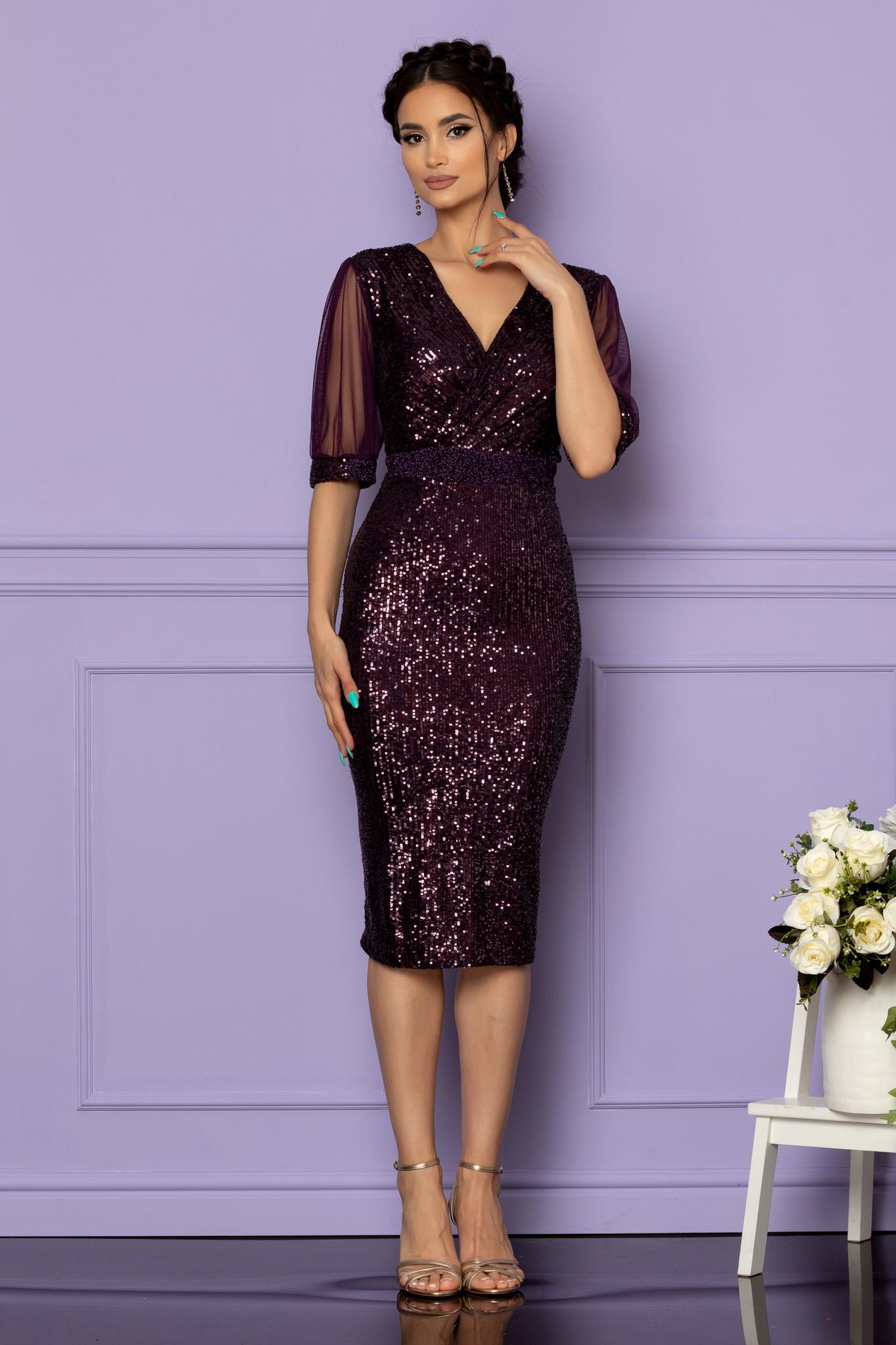 Rochie Jersey Violet