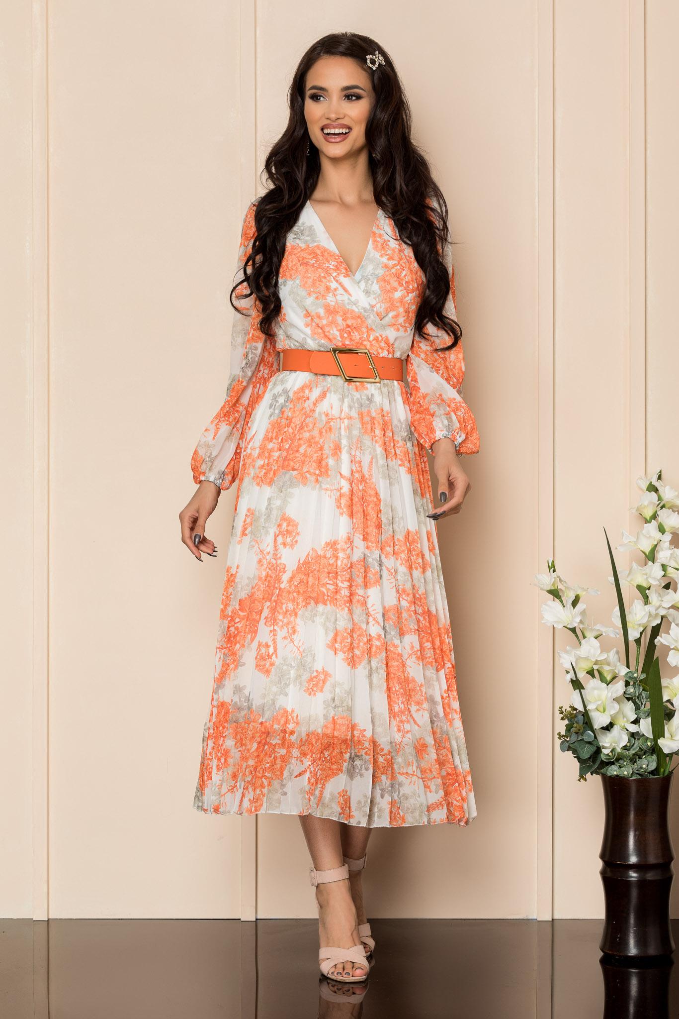 Rochie Ingrid Orange