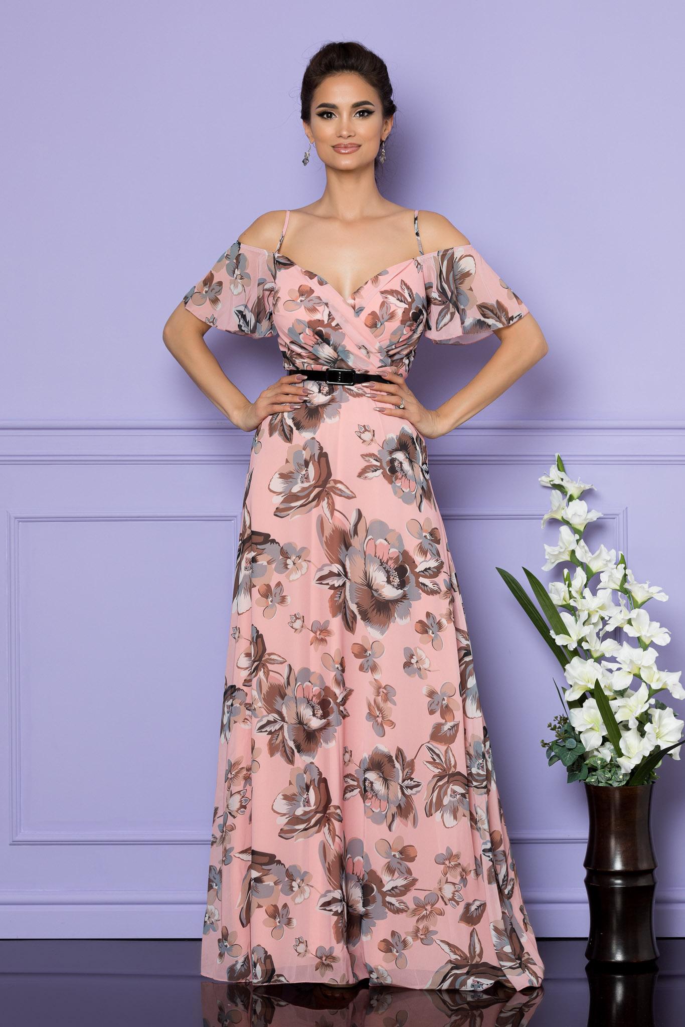 Rochie Althea Roz Floral