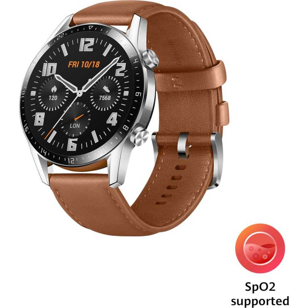 Smartwatch Huawei Watch GT 2, 46mm, Pebble Brown