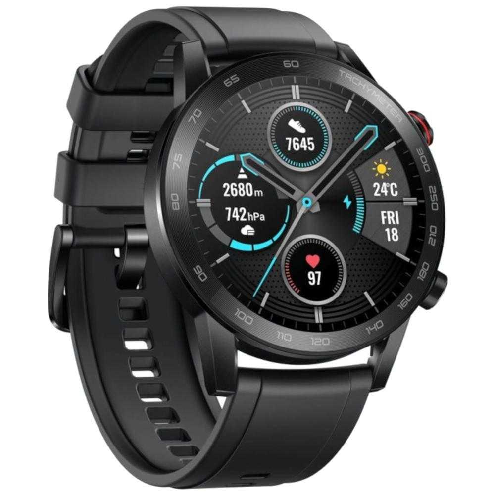 Smartwatch Honor Watch Magic 2, 46 mm, Charcoal Black