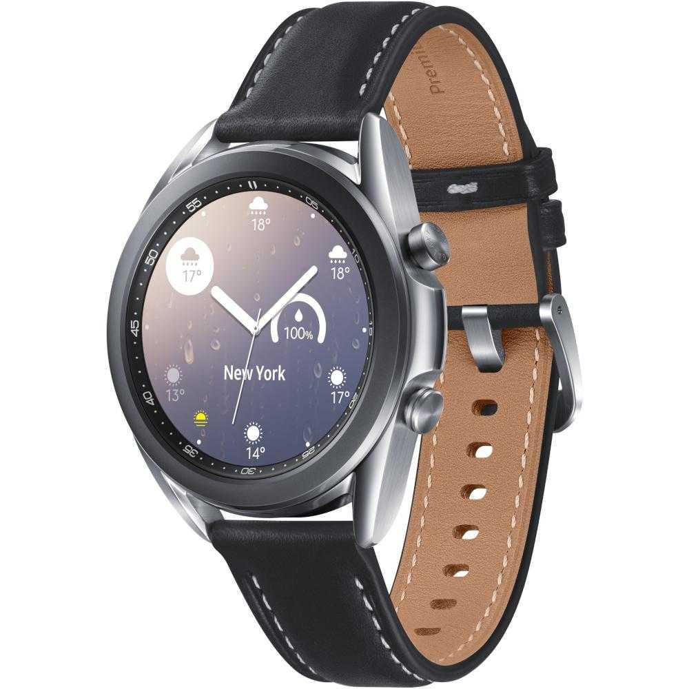 Smartwatch Samsung Galaxy Watch 3, 41mm, NFC, Mystic Silver