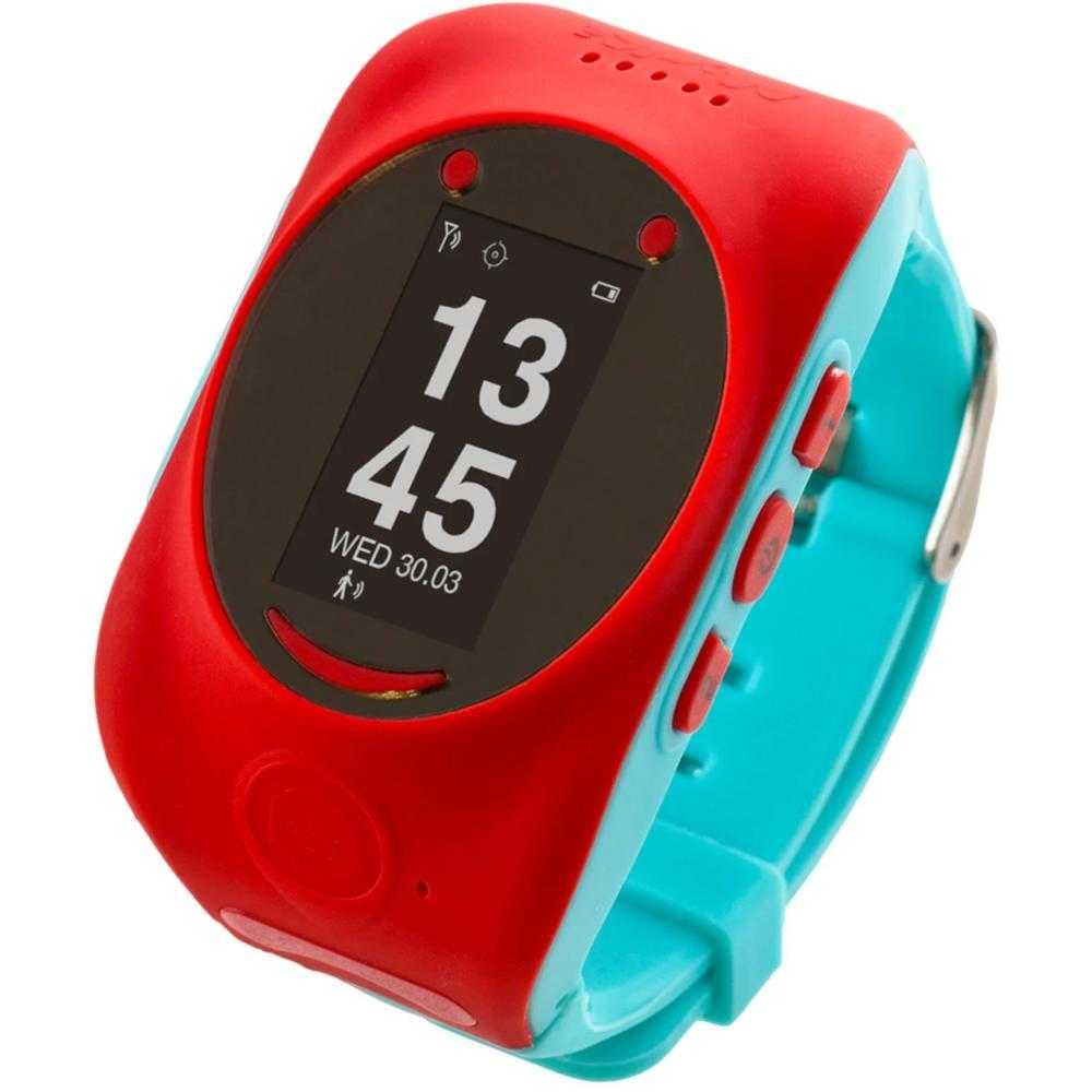 Smartwatch pentru copii MyKi Watch, Rosu