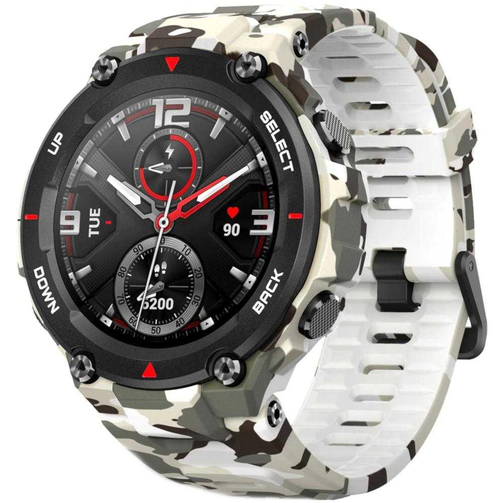 Smartwatch Amazfit T-Rex, 47mm, Camo Green