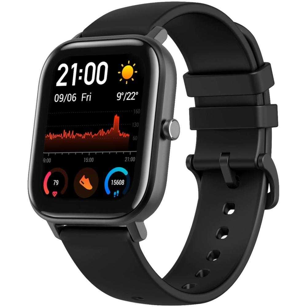 Smartwatch Amazfit GTS, Obsidian Black