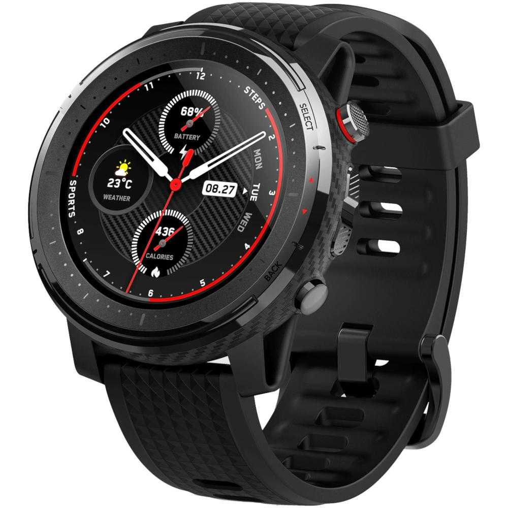 Smartwatch Amazfit Stratos 3, Starry Black