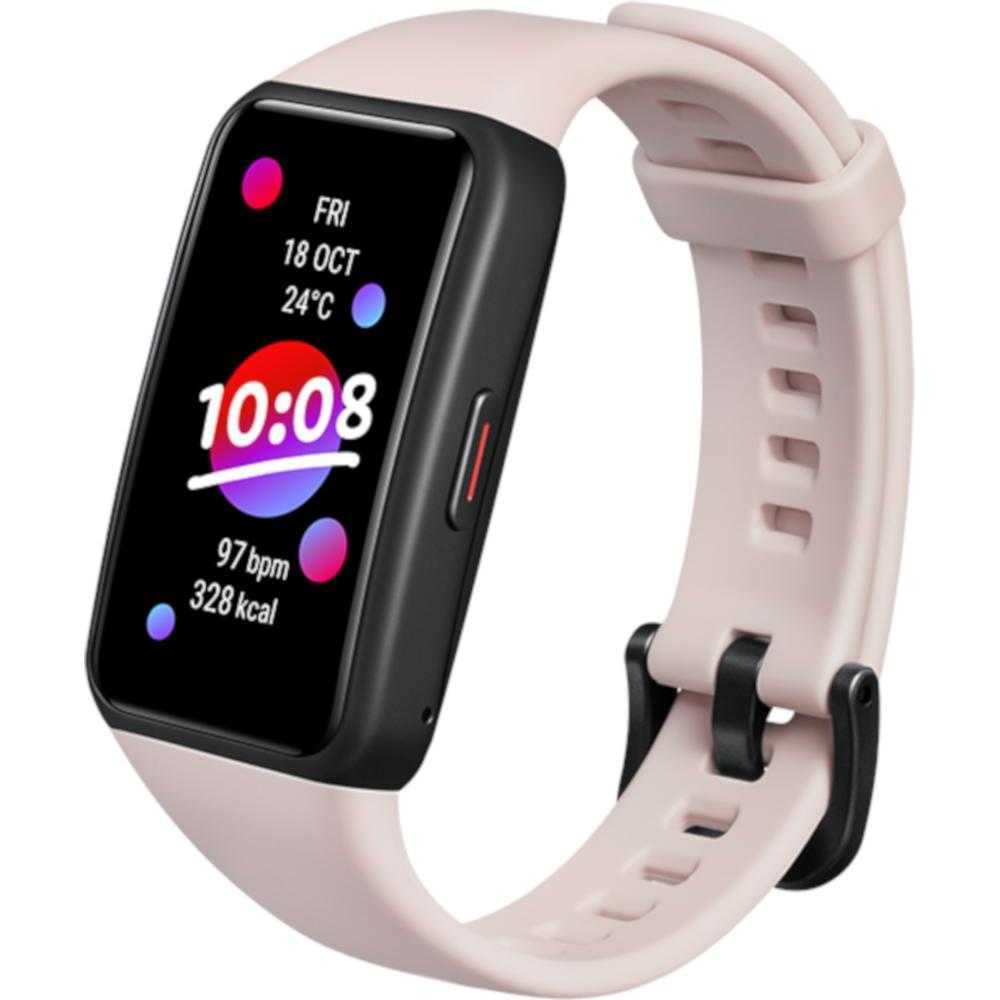 Smartband fitness Honor Band 6, Coral Pink