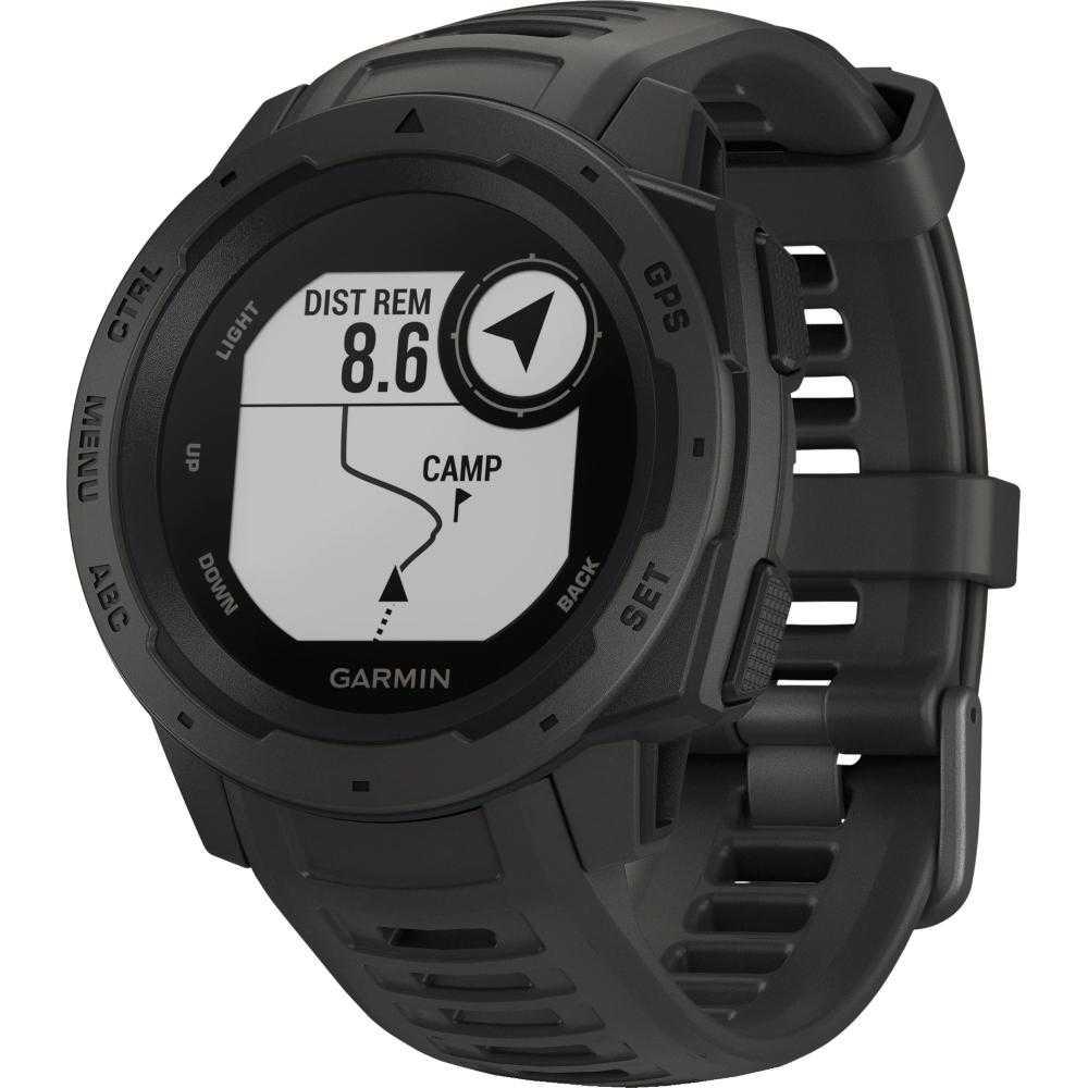 Smartwatch Garmin Instinct, Graphite
