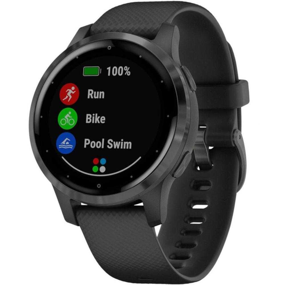 Smartwatch Garmin Vivoactive 4S, Black Slate
