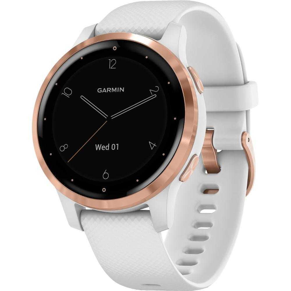 Smartwatch Garmin Vivoactive 4S, 40 mm, White/Rose Gold